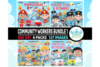 Community Workers Bundle 1 - Lime and Kiwi Designs