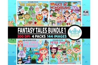 Fantasy Tales Bundle 1 - Lime and Kiwi Designs