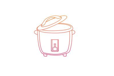 Kitchen Magic Com Gradient Icon
