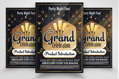 Product Launch Celebration Poster