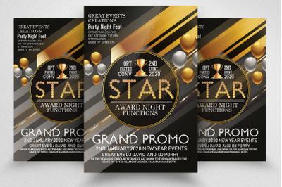 Grand Award Ceremony Night Flyer