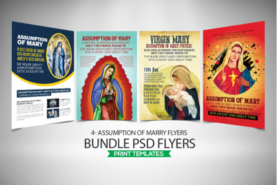 Assumption of Marry 4 Flyers Bundle