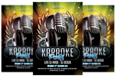 Karaoke Flyer #4