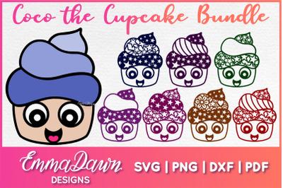 COCO THE CUPCAKE SVG BUNDLE 8 Designs