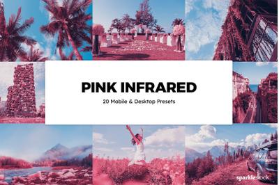 20  Pink Infrared LR Presets