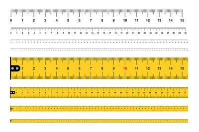 Measuring Rulers, tape measure