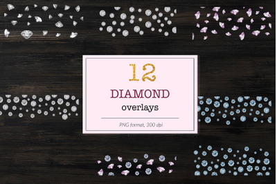 Diamond Photoshop Overlays