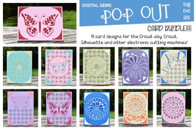 Best seller Pop out card bundle! Cricut Joy cards