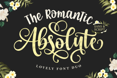 The Romantic Absolute Font Duo