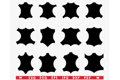 SVG Animal Leather, Symbol silhouettes, Digital clipart