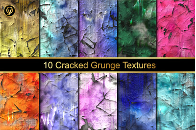 Cracked Grunge Texture Backgrounds
