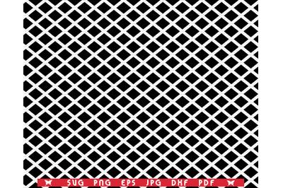 SVG Black Rhombuses, Seamless pattern, Digital clipart