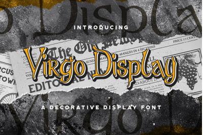 Virgo Display - Haunted Display Font