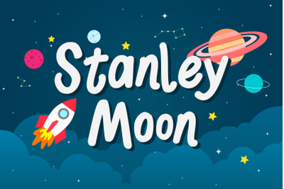 Stanley Moon - Playful Display Font