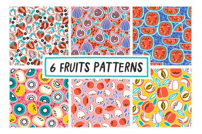 6 FRUITS PATTERNS
