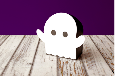 Halloween Ghost Gift Box | SVG | PNG | DXF | EPS