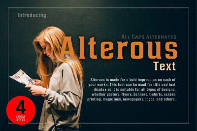 Alterous text