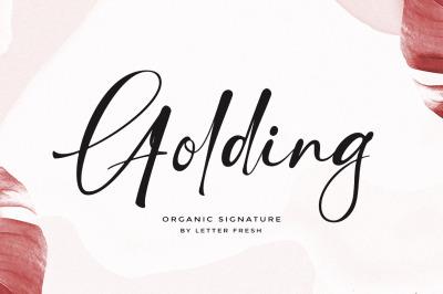 Golding Signature