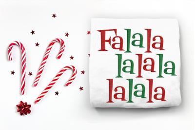 Christmas FaLaLa | Embroidery