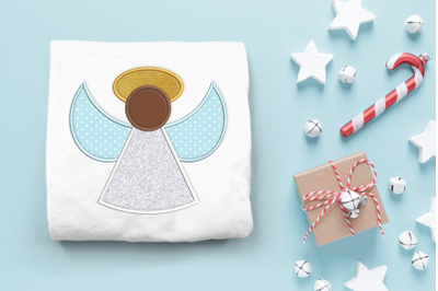 Christmas Angel | Applique Embroidery