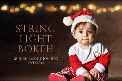String light bokeh overlays