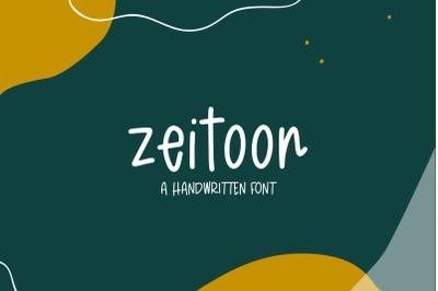 Zeitoon Sans