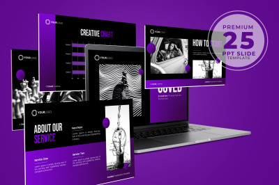 Coved - Creative Powerpoint Template