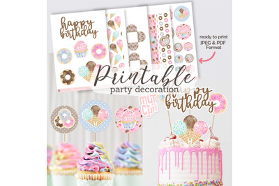 Printable Sweet Shop Party