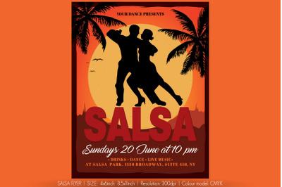 Salsa Flyer