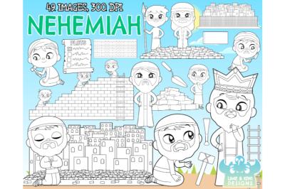 Nehemiah Digital Stamps - Lime and Kiwi Designs