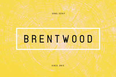 Brentwood Sans-Serif