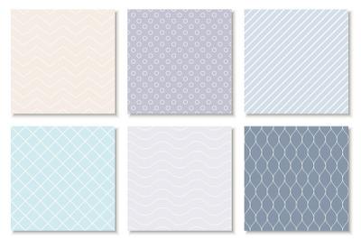 Delicate minimal seamless patterns