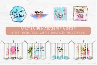 Beach Sublimation Bundle