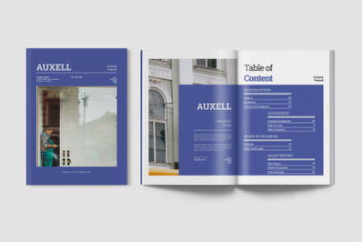 Auxell - Elegant Business Proposal