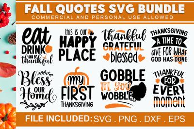 Fall SVG Bundle