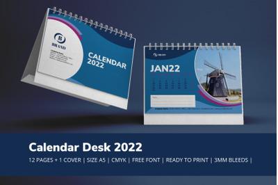 Blue Calendar 2022 Theme