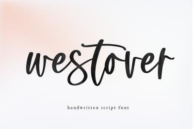 Westover - Modern Script Font