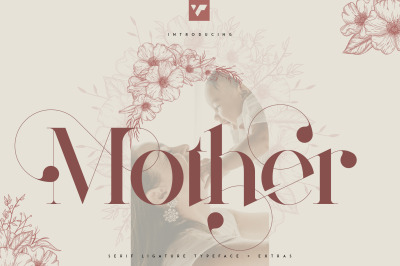 Mother Serif Typeface - 5 weights