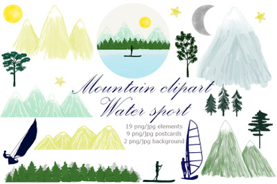 Mountain. Water Sports. Camping.