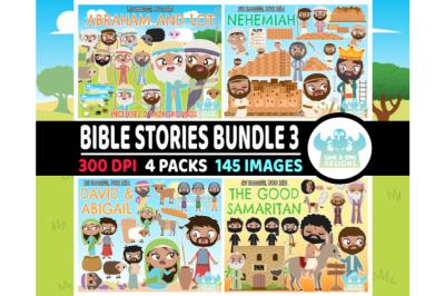 Bible Stories Clipart Bundle 3 - Lime and Kiwi Designs