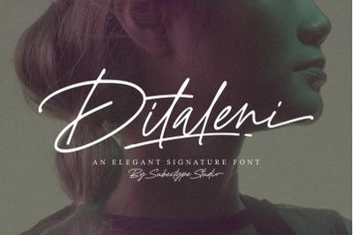 Ditaleni - Elegant Signature Font