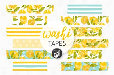 Lemon Love Washi Tapes