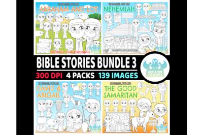 Bible Stories Digital Stamps Bundle 3 - Lime and Kiwi Designs