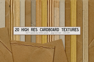 Cardboard Collection Textures