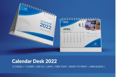 Blue Wave Calendar 2022 Theme