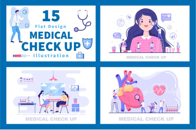 15 Medical Health Check up Background