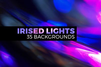 Irised light landscapes