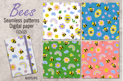 Bees - patterns