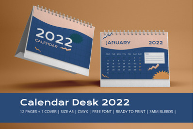 90's Calendar 2022 Theme Template