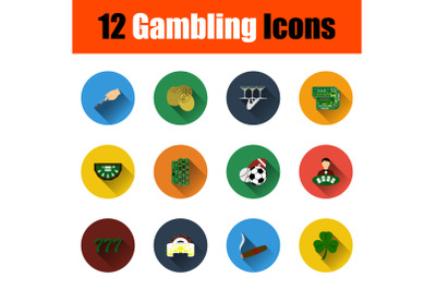 Gambling Icon Set
